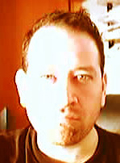 Boaz Rimmer, self portrait, web-cam